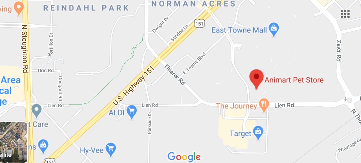 Alabama Store Location in Different Areas