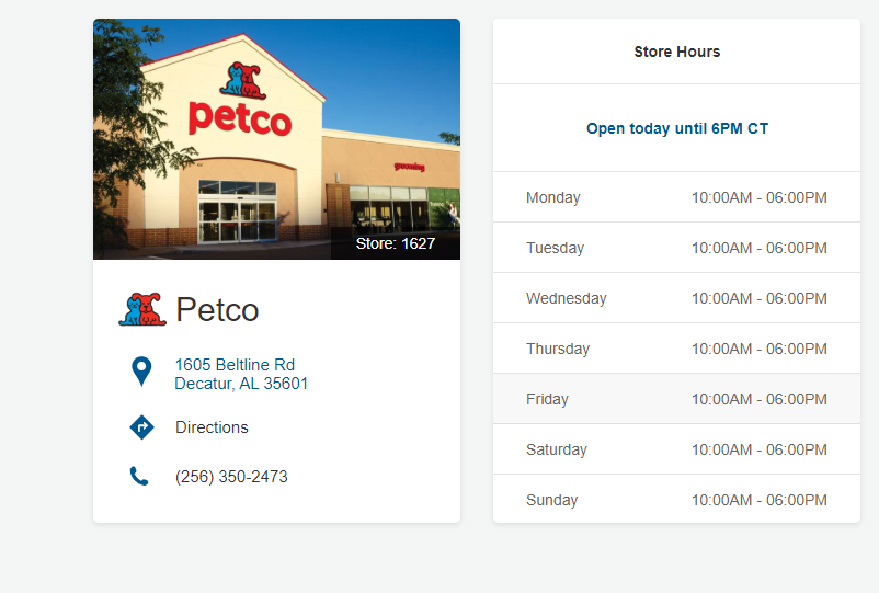 Best Petco Location in Decatur