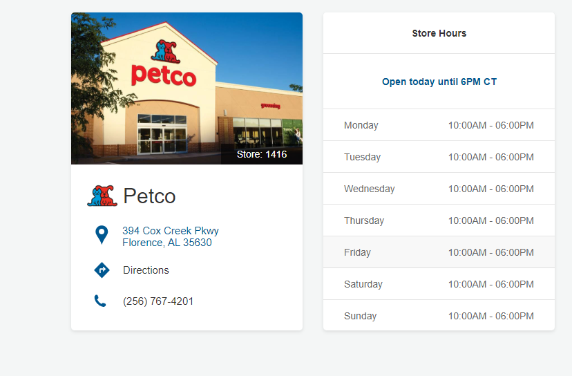 All Petco Location in Wisconsin